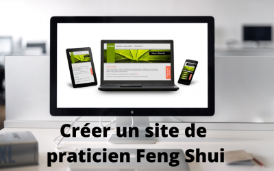 Créer un site internet de praticien Feng Shui.